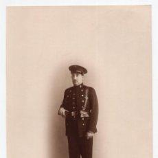 Militaria: FOTOGRAFÍA CELODONIO. MADRID. CUERPO DE TOPOGRAFOS ALFONSO XIII - 22,5 X 15,5 CM. Lote 115190383