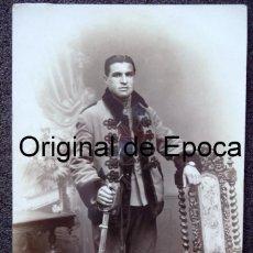 Militaria: (JX-180369)POSTAL FOTOGRÁFICA DE SOLDADO DEL REG. DE DRAGONES DE NUMANCIA , AÑOS 20-30. Lote 115488155