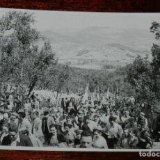 Militaria: CARLISMO, FOTOGRAFIA DE CARLISTAS EN MONTEJURRA, REQUETES, AÑOS 50/60, MIDE 11,5 X 8,5 CMS.. Lote 115713167