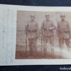 Militaria: FOTO POSTAL PRIMERA GUERRA MUNDIAL . Lote 115781315