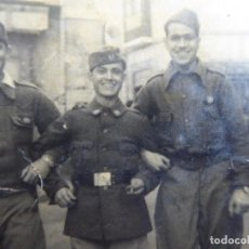 Militaria: FOTOGRAFÍA SARGENTOS SANIDAD MILITAR DEL EJÉRCITO NACIONAL. CEUTA 1939. Lote 116218647
