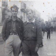 Militaria: FOTOGRAFÍA SOLDADOS SANIDAD MILITAR DEL EJÉRCITO NACIONAL. CEUTA 1938. Lote 116218779