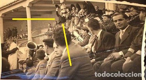 FOTO FRANCO PLAZA TOROS BARCELONA 1939 LEGIÓN CONDOR GUERRA CIVIL ESPAÑOLA (Militar - Fotografía Militar - Guerra Civil Española)