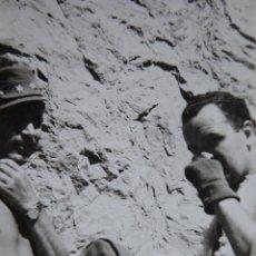 Militaria: FOTOGRAFÍA TENIENTE DEL EJÉRCITO ESPAÑOL ALTA MONTAÑA. CURSO DE ESCALADA 1948. Lote 116483131