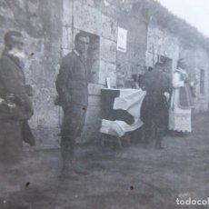 Militaria: FOTOGRAFÍA MISA EN CAMPAÑA SOLDADOS ITALIANOS. CTV 1937. Lote 116642163