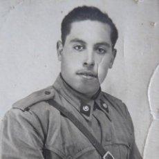 Militaria: FOTOGRAFÍA SOLDADO INTENDENCIA DEL EJÉRCITO ESPAÑOL.. Lote 116642459