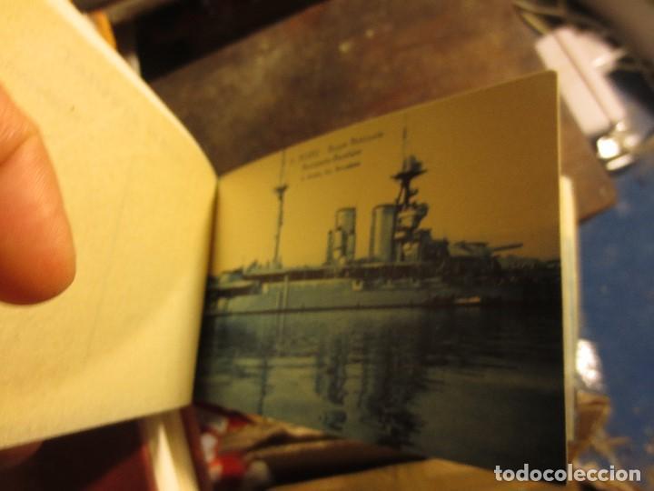 LOTE ANTIGUAS FOTOS POSTALES BARCOS INGLESES ESCUADRA INGLESA GUERRA ROSAS BARCELONA (Militar - Fotografía Militar - II Guerra Mundial)