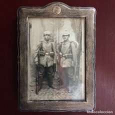 Militaria: FOTOGRAFÍA POSTAL SOLDADOS ALEMANES. I GUERRA MUNDIAL. ALEMANIA. PICKELHAUBE. Lote 116790207