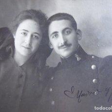 Militaria: FOTOGRAFÍA SOLDADO INGENIEROS DEL EJÉRCITO ESPAÑOL. 1916. Lote 116867611