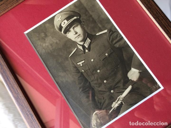 FOTOGRAFÍA POSTAL OFICIAL ALEMÁN. II GUERRA MUNDIAL. ALEMANIA. III REICH. ENMARCADA. WEHRMACHT (Militar - Fotografía Militar - II Guerra Mundial)