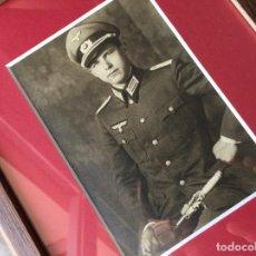 Militaria: FOTOGRAFÍA POSTAL OFICIAL ALEMÁN. II GUERRA MUNDIAL. ALEMANIA. III REICH. ENMARCADA. WEHRMACHT. Lote 116916695