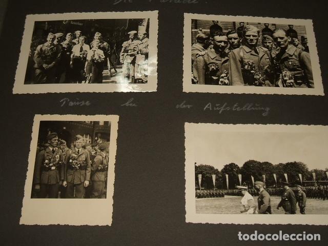 HAMBURGO ALEMANIA 4 FOTOGRAFIAS REGRESO LEGION CONDOR POR SARGENTO ALEMAN GOERING Y SPERRLE (Militar - Fotografía Militar - Guerra Civil Española)