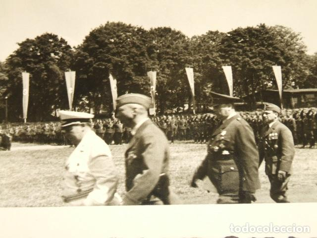 Militaria: HAMBURGO ALEMANIA 4 FOTOGRAFIAS REGRESO LEGION CONDOR POR SARGENTO ALEMAN GOERING Y SPERRLE - Foto 5 - 117015895