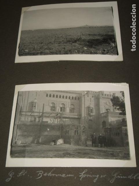 Militaria: ZARAGOZA 9 FOTOGRAFIAS POR SARGENTO ALEMAN DE LA LEGION CONDOR GUERRA CIVIL - Foto 2 - 117018283