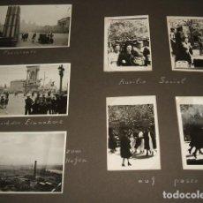 Militaria: BARCELONA 18 FOTOGRAFIAS POR SARGENTO ALEMAN DE LA LEGION CONDOR GUERRA CIVIL 1939. Lote 117018663
