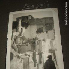 Militaria: FRAGA HUESCA 5 FOTOGRAFIAS POR SARGENTO ALEMAN DE LA LEGION CONDOR GUERRA CIVIL . Lote 117021939