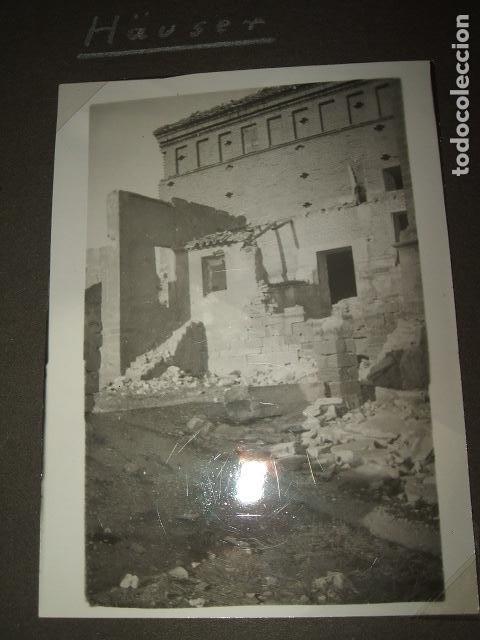 Militaria: FRAGA HUESCA 5 FOTOGRAFIAS POR SARGENTO ALEMAN DE LA LEGION CONDOR GUERRA CIVIL - Foto 2 - 117021939