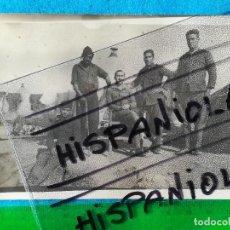 Militaria: SOLDADOS EJÉRCITO ESPAÑOL EN CAMPAMENTO DE CASA ASPILLERADA ÁFRICA MARRUECOS (TARJETA POSTAL 1928). Lote 117072143