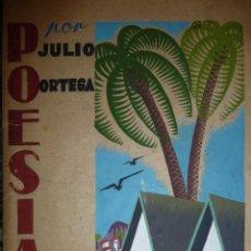 Militaria: POESIAS POR JULIO ORTEGA, MANUSCRITOS PRISION PORTA-COELI,VALENCIA 1942,ILUSTR. CARTELISTA CERVIGON.. Lote 117400063