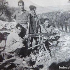 Militaria: FOTOGRAFÍA SOLDADOS DEL EJÉRCITO NACIONAL. LOPERA 1938. Lote 117400999
