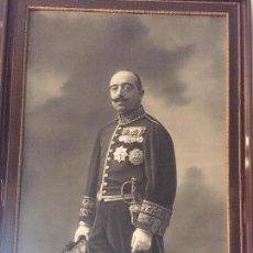 Militaria: GRAN FOTOGRAFIA DE EMBAJADOR Y/O MILITAR 1919, ,,,,,,ALFONSO -FOTOGRAFO. Lote 117582223