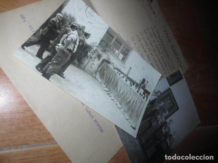 Militaria: ORDEN DEL GENERALISIMO FRANCO GUERRA CIVIL BATALLON CAZADORES CEUTA 1937 DEFENSA FALANGE BURGOS - Foto 6 - 117652139