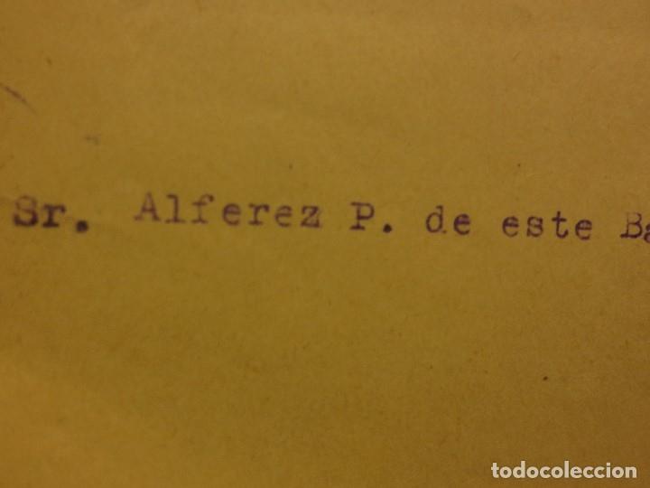 Militaria: ORDEN DEL GENERALISIMO FRANCO GUERRA CIVIL BATALLON CAZADORES CEUTA 1937 DEFENSA FALANGE BURGOS - Foto 8 - 117652139