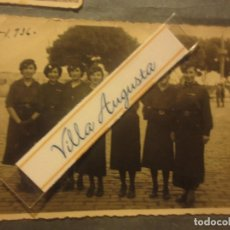 Militaria: 1936 MELILLA FOTO ORIGINAL BATALLON FEMENINO FALANGE MILITAR CON UNIFORME GUERRA CIVIL ESPAÑOLA. Lote 117688515