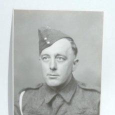 Militaria: FOTO POSTAL DE GNR S. KELSEY, BURTON AGNES, INGLATERRA, FOTO THE SUN-RAY PHOTO, STAFFORD, NO CIRCULA. Lote 117713235