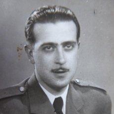 Militaria: FOTOGRAFÍA PILOTO AVIACIÓN ALFÉREZ PROVISIONAL. VALENCIA 1940. Lote 117996835