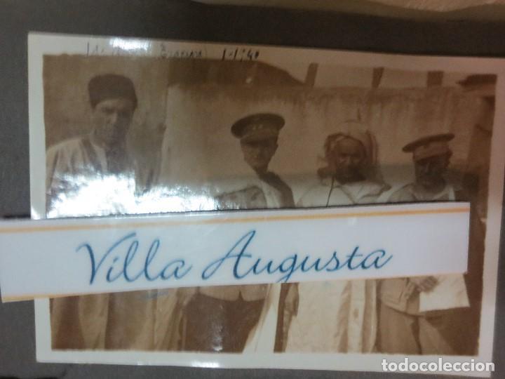 ID . AISA TAGRAGRA 1940 REGULARES LEGION MANDOS FOTO ORIGINAL EXCOMBATIENTES DE GUERRA CIVIL (Militar - Fotografía Militar - Guerra Civil Española)