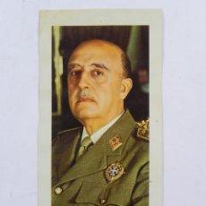 Militaria: LAMINA FOTOGRAFICA DE FRANCISCO FRANCO, EL GENERALISIMO CON LA GRAN CRUZ LAUREADA DE LA ORDEN DE SAN. Lote 118234287