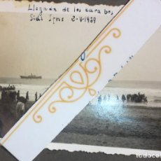 Militaria: BARCOS LLEGADA A CARABOS PLAYA DE SIDI IFNI 2-9-1939 GUERRA CIVIL ESPAÑOLA LEGIONARIOS . Lote 118315391