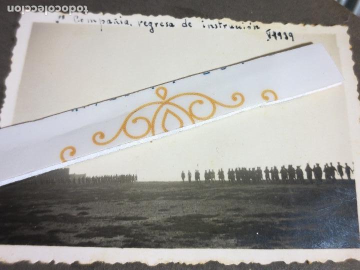 2º COMPAÑIA REGRESA INSTRUCCION CUARTEL SIDI IFNI 2-9-1939 GUERRA CIVIL ESPAÑOLA LEGIONARIOS (Militar - Fotografía Militar - Guerra Civil Española)
