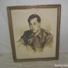 Militaria: ANTIGUA LAMINA DE JOSE ANTONIO PRIMO DE RIVERA DE 1936, FALANGE. GUERRA CIVIL. . Lote 154048889