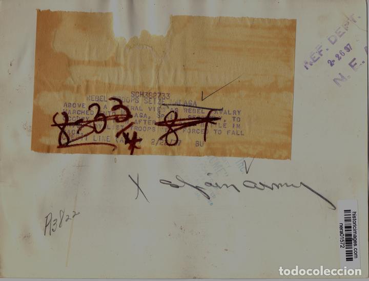 Militaria: ENTRADA TROPAS DE FRANCO MALAGA CAPITAL FEBRERO 1937 GUERRA CIVIL - Foto 2 - 118781895