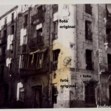 Militaria: EDIFICIO METRALLA CERCA SEMINARIO TERUEL 1938 CTV ITALIANO BATALLA GUERRA CIVIL. Lote 118918147
