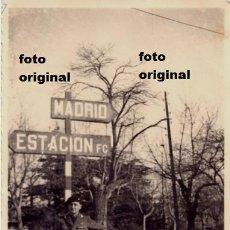 Militaria: RARISIMA FOTO SOLDADO ESPIA BATALLON GARIBALDI BRIGADAS INTERNACIONALES MADRID GUERRA CIVIL. Lote 118921571