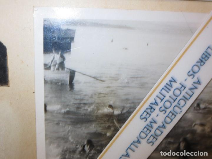 Militaria: DESEMBARCO DE BARCO SOLDADOS FOTO GUERRA CIVIL LEGION ESPAÑOLA - Foto 2 - 118927283