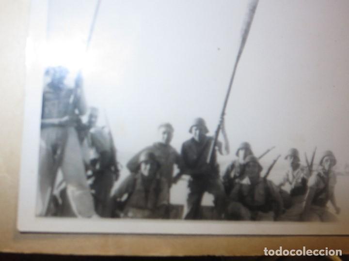 Militaria: DESEMBARCO DE BARCO SOLDADOS FOTO GUERRA CIVIL LEGION ESPAÑOLA - Foto 6 - 118927283
