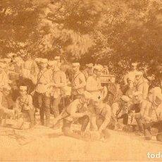 Militaria: TOLEDO. PRACTICAS DE LA SECCIÓN DE MINADORES. 1888 EJERCITO ESPAÑA. Lote 118936931