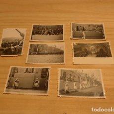 Militaria: LOTE DE 7 FOTOGRAFIA ANTIGUA DE LA GUARDIA MORA Y FRANCISCO FRANCO. FOTOGRAFIAS ORIGINALES.. Lote 119136563