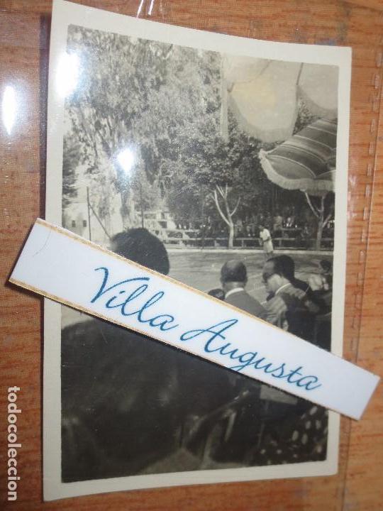 FOTO MILITAR TENIS ATLETISMO EN MELILLA POST GUERRA CIVIL DEPORTES HOLIMPIADAS (Militar - Fotografía Militar - Guerra Civil Española)