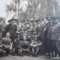 Militaria: FOTOGRAFÍA OFICIALES DEL EJÉRCITO ESPAÑOL. GUERRA DE MARRUECOS. Lote 119311687