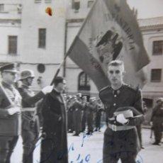 Militaria: FOTOGRAFÍA GUARDIA CIVIL. JURA DE BANDERA. Lote 119387839