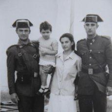 Militaria: FOTOGRAFÍA GUARDIAS CIVILES.. Lote 119387991