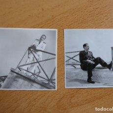 Militaria: FOTOGRAFÍAS TENIENTE AVIACIÓN. ACADEMIA GENERAL DEL AIRE SAN JAVIER 1955. Lote 119388299