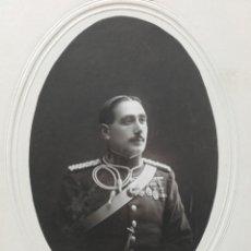 Militaria: ANTIGUA FOTO DE MILITAR, GARAY FOTÓGRAFO, VALLADOLID 1917. Lote 119423392