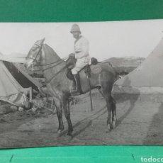 Militaria: CAMPAMENTO DE SEGANGAN, MARRUECOS 1912. Lote 119468586