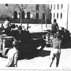 Military - 1937/38 CARROS DE COMBATES FIAT ANSALDO Cv 33/35 ITALIANOS GUERRA CIVIL FOTO ORIGINAL - 119473151